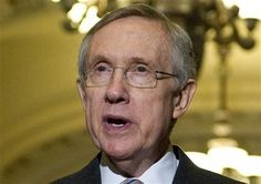 (Reuters) - U.S. Senate Majority Leader Harry Reid was treated for minor rib and hip injuries after the vehicle in which he was riding was involved in an accident on a Las Vegas interstate highway on Friday afternoon, Reid's office said.   The 72-year-old Democratic senator, who was wearing his seatbelt at the time of the accident, walked in on his own to the University Medical Center Hospital, his office said in a statement.