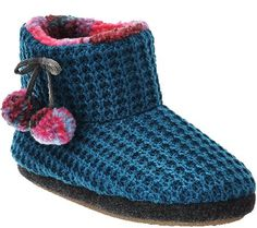 Cuddl Duds Fleece Lined Ankle Booties with Foam Insole - I ordered Blue, Black and Grey. Family Reunion Favors, Cuddle Duds, Cozy Socks, Shoe Closet, Ankle Booties, Snug, Straw Bag, Qvc, Black And Grey