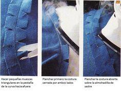 cómo hacer costuras curvas