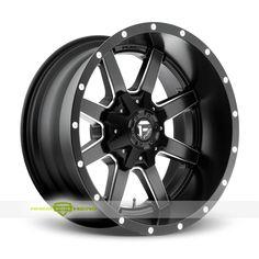 Fuel Maverick Black Rims