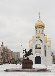 Russia, church - Double click on the photo to get or sell a travel itinerary to #Russia