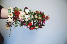 Flower crown city Flower Crown, Floral Wreath, Wreaths, City, Flowers, Jewelry, Home Decor, Crown Flower, Floral Crown
