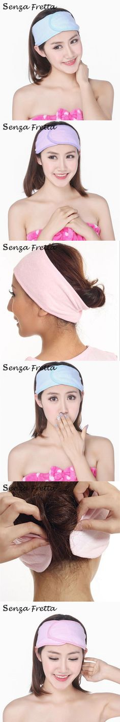 New Arrival Spa Bath Shower Make Up Wash Face Cosmetic Headband Hair Band Accessories