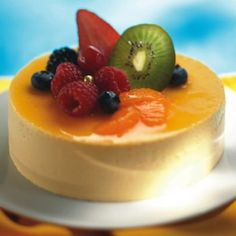 Passion Fruit Cheesecake Tart | Recipe | Fruit Cheesecake, Passion and ...