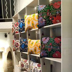 Heritage collection suzani ,velvet ,Ikat cushion