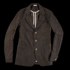 UNIONMADE - Oliver Spencer - Plymouth Jacket in Ranworth Brown