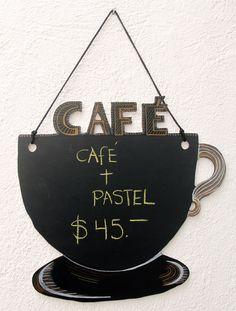 Pizarrones para cafeterías, restaurantes, novedosos y originales, el toque…