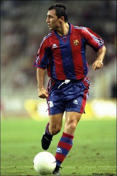 My inspiration growing up on how to play the game I love.  Hristo Stoichkov.