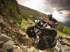 09 Yamaha Grizzly 700, rock it!