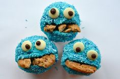Koekiemonster cupcakes - Vrouwen.nl