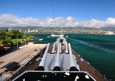 From the Bridge of USS Missouri in  Honolulu, USA. Another one of my favs. So cool to be on that huge ship!