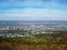 overlooking the Wyoming Valley, PA by Hank Rogers, via Flickr