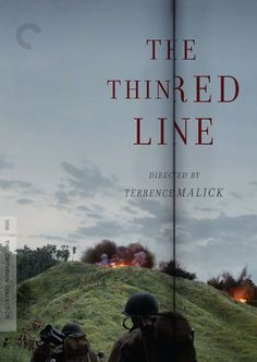 """The Thin Red Line"" by Terrence Malick, released by The Criterion Collection."