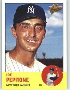 2003 Topps All-Time Fan Favorites #17 Joe Pepitone - New York Yankees.