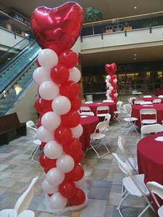 Valentines Day party with awesome balloon columns. We can make any balloon columns for any party and any event. Please check our website for even more ideas. Diy Valentine's Day Decorations, Party Decoration, Valentines Day Decorations, Balloon Decorations, Decor Ideas, Valentines Balloons, Valentine Theme, My Funny Valentine, Valentines Day Party