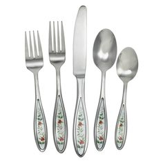 This 47 Piece Flatware Set is crafted from premium 18/0 stainless steel to deliver outstanding beauty and performance. Each handle is adorned with our iconic Winterberry...