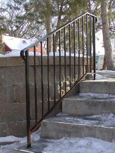 Best Exterior Interior Wrought Iron Railings Handrails Gates Fencing Exterior In 2019 640 x 480