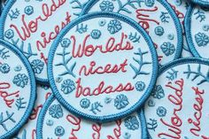 World's Nicest Badass Patch, by tenderghost.