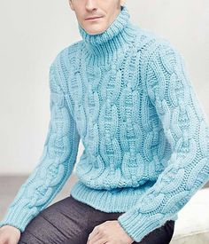 under wear – Gardening Tips Hand Knitted Sweaters, Mohair Sweater, Wool Sweaters, Mens Fashion Sweaters, Sweater Fashion, Gents Sweater, Sweater Weather, Hand Knitting, Menswear