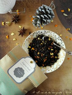 Thé de Noël maison - cadeau gourmand