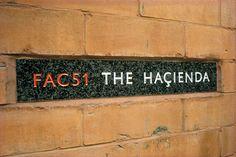 FAC 51 - The Hacienda Club in Manchester.