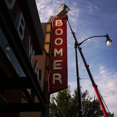 The Boomer sign is getting a tune up just in time for first day of class and Sooner football!