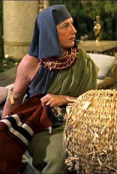"Judith Anderson in ""The Ten Commandments"""