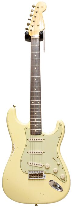 Fender Custom Shop 60 Stratocaster Relic Vintage White #R72172 Main Product Image