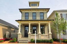 It Only Looks Old  http://hookedonhouses.net/2011/01/29/it-only-looks-old-the-southern-living-showcase-home/