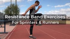 Speed Training - Resistance Band Exercises for Sprinters & Runners - Str. Training for beginners Training plan Training video Training weightlifting Training women Training workout Sprint Workout, Speed Workout, Hamstring Workout, Track Workout, Flexibility Workout, Strength Workout, Resistance Band Training, Speed Training, Resistance Band Exercises