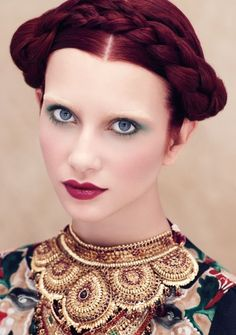 Red Violet Hair Color Culture Clash Aveda Summer 14 | Maximum FX Salons