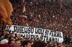 AS Roma vs Sassuolo Curva Sud As Roma, Rome, Company Logo, Curves, Rome Italy