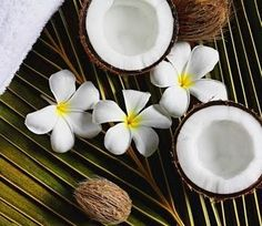 Coconut and Flowers