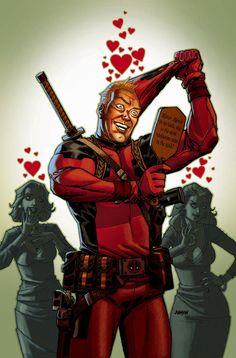 Deadpool No. 55 by Devilpig.deviantART.com    Artist: Dave Johnson
