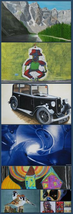 BBC News - In pictures: Scottish prisoner art goes on show [Collage made with one click using http://pagecollage.com] #pagecollage