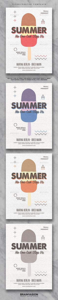 Company Summer Picnic Flyer Template By @Stocklayouts | Flyer