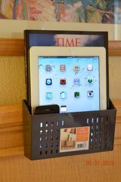 Bedside Caddy, Bed Organizer, Remotes Caddy (Brown) by Clip and Keep, http://www.amazon.com/dp/B00C8UN0HA/ref=cm_sw_r_pi_dp_YVGcsb15NWEFA