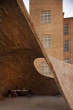"""Bricktopia"", by the architects of the international collective Map13 © Manuel de Lozar + Paula López Barba"