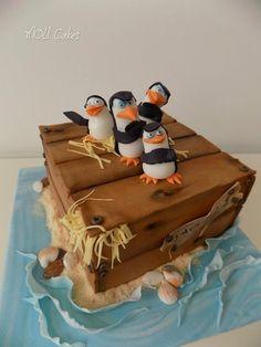 Penguins of Madagascar by MOLI Cakes