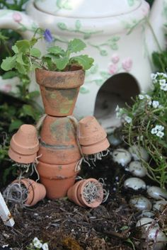 102 best Miniature Gardens & Outdoor Craft Ideas images on Pinterest ...