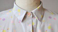 """ by Sarah Donofrio on Exposure- Confetti textile print made into a shirt dress Textile Prints, Textiles, Confetti, Blouses, Posts, Shirt Dress, Blog, Dresses, Fashion"