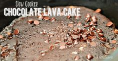 Chocolate Lava Cake in the Slow Cooker Hip2Save