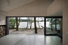 Modern Lake Cabin in Czech Republic 6