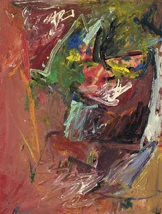Milton Resnick (1917-2004)  Untitled  signed and dated '58 Resnick'  oil on paper mounted on board  26 x 19 7/8 in. (66 x 50.5 cm.)  Painted in 1958. Price Realized   $17,500  Estimate $8,000 - $12,000