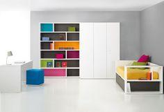 BM2000: el color llega a los muebles juveniles
