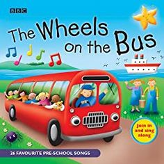 "Buy Wheels on the Bus Pre School Songs) at Mighty Ape NZ. This work is a fun collection of all-time favourite pre-school playgroup songs for everyone to enjoy…and join in with! The songs are: ""The. Hickory Dickory Dock, Preschool Songs, Kids Songs, Roald Dahl, Simple Song Lyrics, Audio Books For Kids, Pop Goes The Weasel, Nursery Rhymes Songs, Blue And Green"