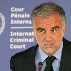 LUIS MORENO OCAMPO  Es un abogado argentino ex fiscal jefe de la Corte Penal Internacional de La Haya.