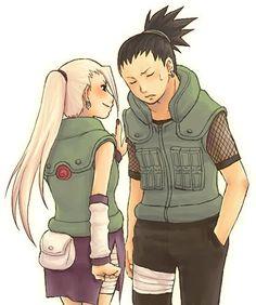 Ino & Shikamaru. Why are they so cute?!