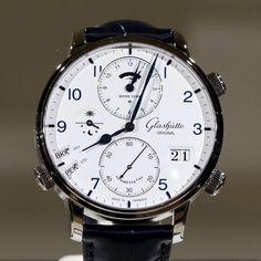 Trendy Watches, Elegant Watches, Fine Watches, Beautiful Watches, Cool Watches, Watches For Men, Amazing Watches, Glashutte Original, Gentleman Watch