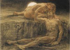 The Cabinet of the Solar Plexus: Jan Sluijters (1885-1957)... Nocturne, drawing 1904